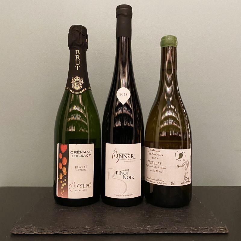 画像1: 厳選!フランス自然派ワイン3本セット (1)