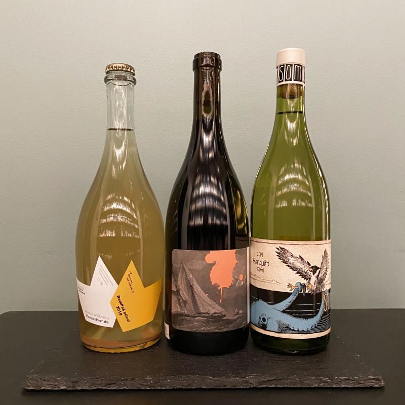 画像1: オススメ!ニューワールド自然派ワイン3本セット (1)